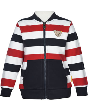 Steiff Sweat-Jacke FISH AND SHIP Mini Boys steiff navy 2112130-3032