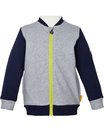Steiff Sweat-Jacke HELLO SUMMER Mini Boys soft grey melange 2113114-9007