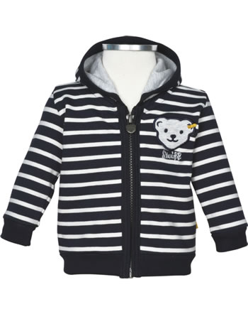 Steiff Sweat-Jacke INDI BEAR Baby Boys steiff navy 2022320-3032