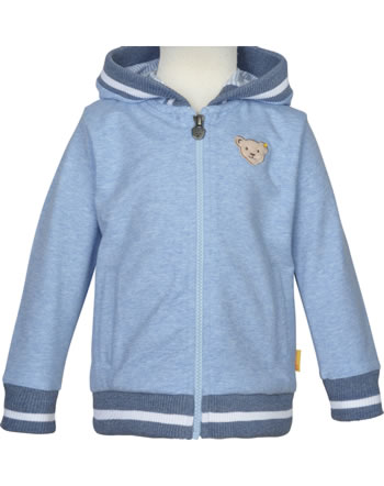 Steiff Sweat-Jacke m Kapuze HELLO SUMMER Mini Boys kentucky blue 2113115-6020