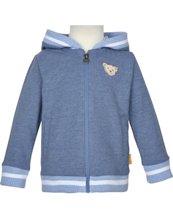 Steiff Sweat-Jacke m Kapuze HELLO SUMMER Mini Boys steiff navy 2113115-3032