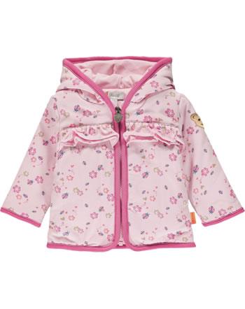 Steiff Sweat-Jacke mit Kapuze BUGS LIFE Baby Girls almond blossom 2111404-3027