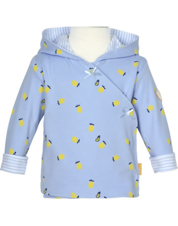 Steiff Sweat-Jacke mit Kapuze HELLO SUMMER Baby Girls brunnera blue 2113413-6043
