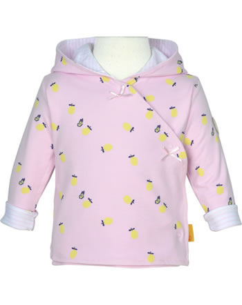 Steiff Sweat-Jacke mit Kapuze HELLO SUMMER Baby Girls pink lady 2113413-3033