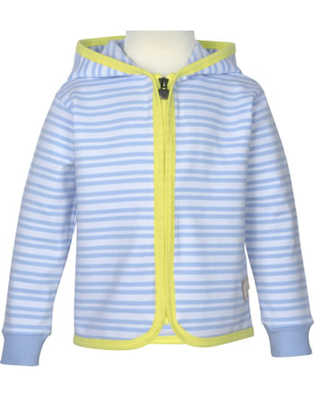 Steiff Sweat-Jacke mit Kapuze HELLO SUMMER Mini Girls brunnera blue 2113231-6043