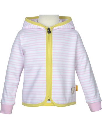 Steiff Sweat-Jacke mit Kapuze HELLO SUMMER Mini Girls pink lady 2113231-3033