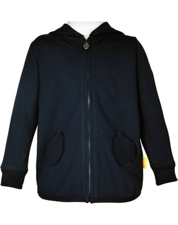 Steiff Sweat-Jacke mit Kapuze MARINE AIR Mini Girls steiff navy 2112222-3032