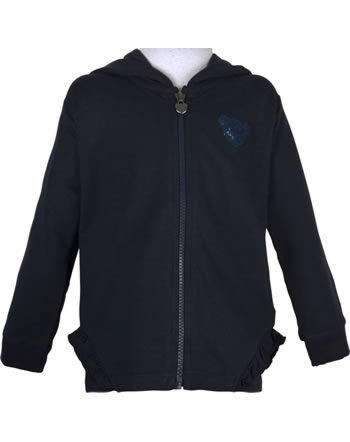 Steiff Sweat-Jacke mit Kapuze PONYFUL Mini Girls steiff navy 2022227-3032