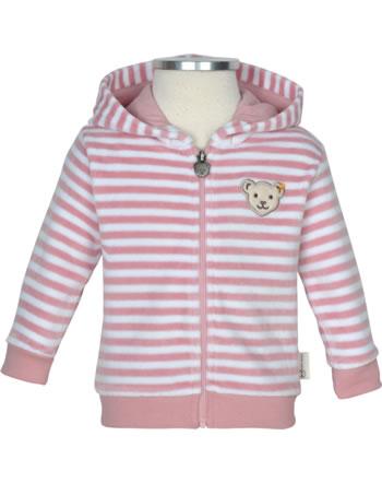 Steiff Sweat jacket RAINDROPS velour zephyr 2022516-3025 GOTS