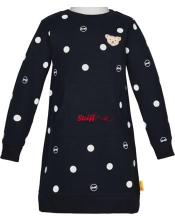 Steiff Sweat-Kleid Langarm BEAR TO SCHOOL steiff navy 2021219-3032