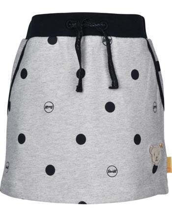 Steiff Sweat-Skirt BEAR TO SCHOOL soft grey melange 2021222-9007
