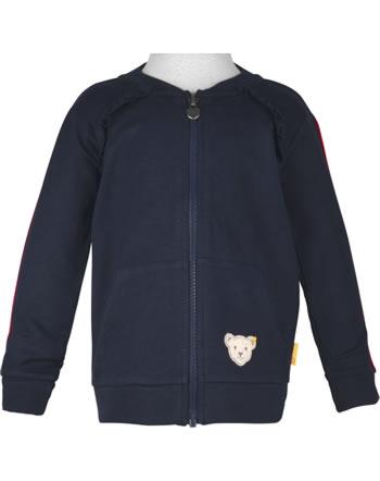 Steiff Sweatjacket BEAR TO SCHOOL steiff navy 2021208-3032
