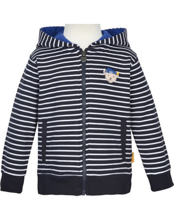 Steiff Sweatjacke m. Kapuze FISH AND SHIP Mini Boys steiff navy 2112121-3032