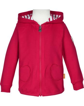 Steiff Sweat jacket with hood AHOI MINI! tango red 2012529-4008