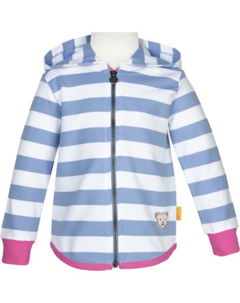 Steiff Sweat jacket with hood SWEET CHERRY forever blue 2013417-6027