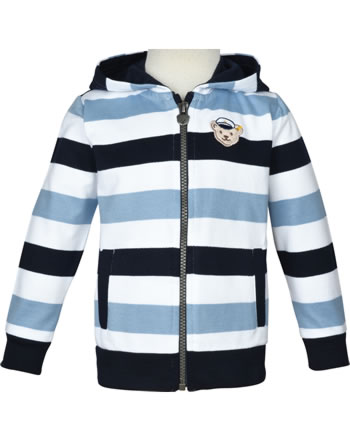 Steiff Sweatjacke SEA BEAR bright white 2012426-1000