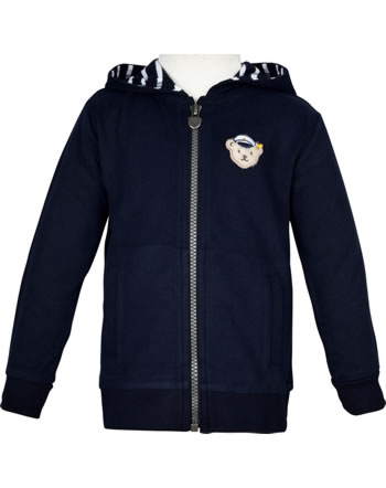 Steiff Sweatjacke SEA BEAR steif navy 2012426-3032