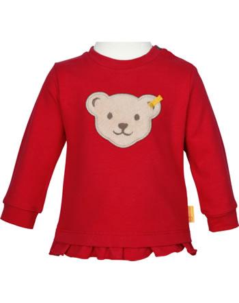 Steiff Sweatshirt AHOI BABY tango red 2012236-4008