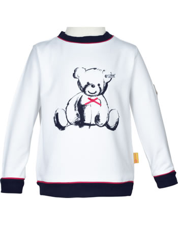 Steiff Sweatshirt AHOI MINI! bright white 2012505-1000