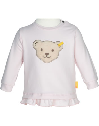 Steiff Sweatshirt BEAR AND CHERRY barely pink 2013231-2560