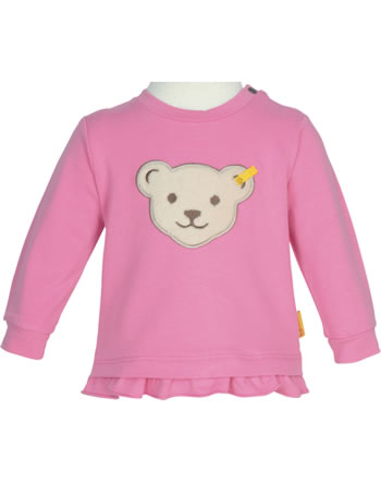 Steiff Sweatshirt BEAR AND CHERRY pink carnation 2013231-3019