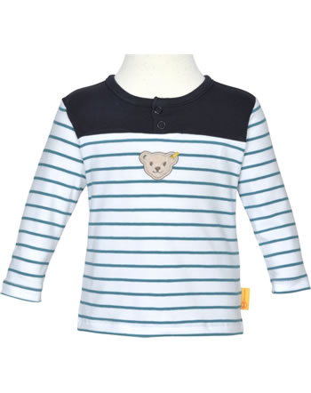 Steiff Sweatshirt BEAR BLUES Streifen faience 2011221-6042