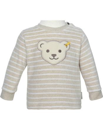 Steiff Sweatshirt BEAR HUGS Velour sandshell 2022608-1005 GOTS