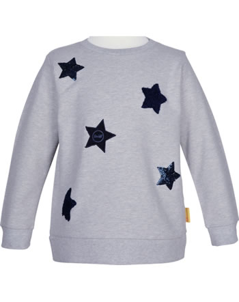 Steiff Sweatshirt BEAR TO SCHOOL soft grey melange 2021235-9007