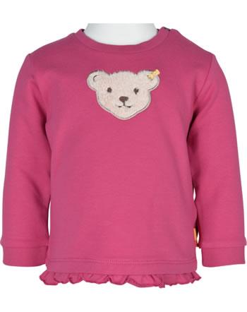 Steiff Sweatshirt BEST FRIENDS Baby Girls claret red 2123419-3057