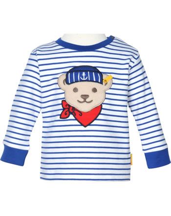 Steiff Sweatshirt FISH AND SHIP Baby Boys bright white 2112330-1000