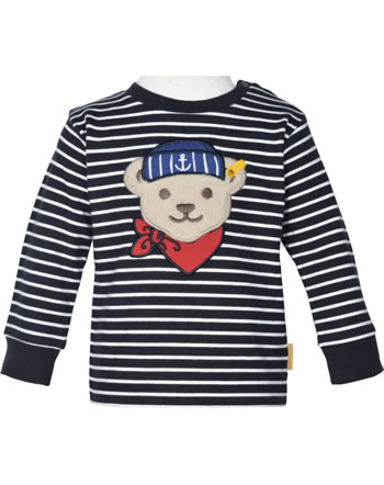 Steiff Sweatshirt FISH AND SHIP Baby Boys steiff navy 2112330-3032