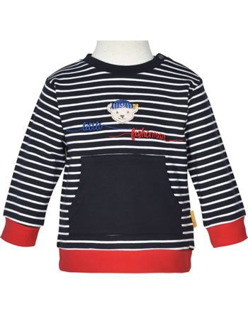 Steiff Sweatshirt FISH AND SHIP Baby Boys steiff navy 2112331-3032