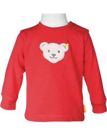 Steiff Sweatshirt FISH AND SHIP Baby Boys true red 2112332-4015