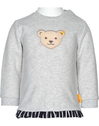 Steiff Sweatshirt FLYING AWAY Baby Girls soft grey 2122415-9007