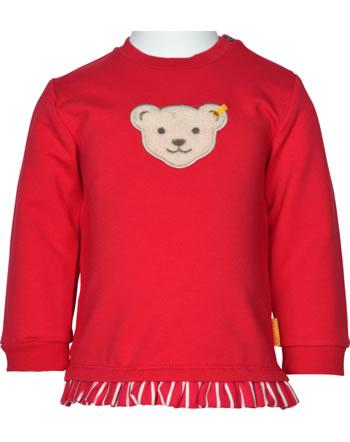 Steiff Sweatshirt FLYING AWAY Baby Girls tango red 2122415-4008