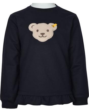 Steiff Sweatshirt FLYING AWAY Quietsche Mini Girls steiff navy 2122205-3032