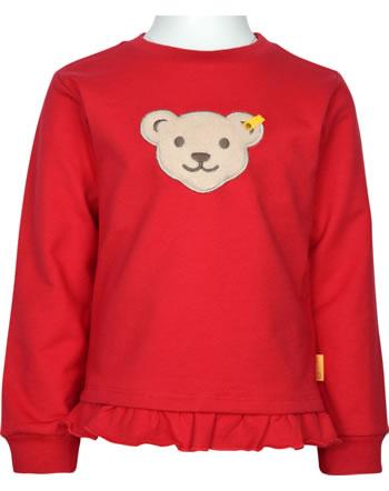 Steiff Sweatshirt FLYING AWAY Quietsche Mini Girls tango red 2122205-4008