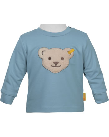 Steiff Sweat-Shirt FOREST FRIENDS Baby Boys adriatic blue 2023314-7045