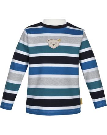 Steiff Sweat-Shirt GO BEAR GO black iris 2011415-3032