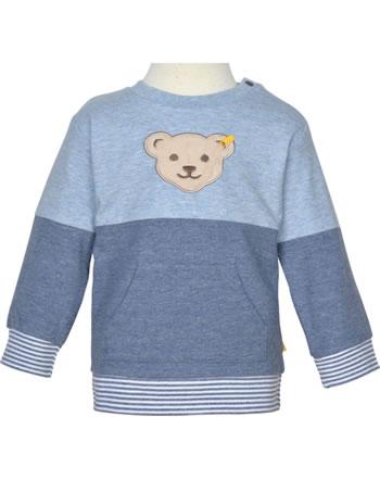 Steiff Sweatshirt HELLO SUMMER Baby Boys steiff navy 2113333-3032
