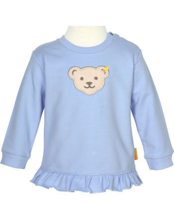 Steiff Sweatshirt HELLO SUMMER Baby Girls brunnera blue 2113430-6043