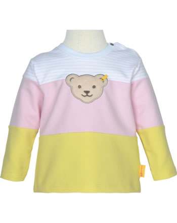 Steiff Sweatshirt HELLO SUMMER Baby Girls pink lady 2113402-3033