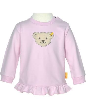 Steiff Sweatshirt HELLO SUMMER Baby Girls pink lady 2113430-3033