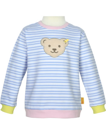 Steiff Sweatshirt HELLO SUMMER Mini Girls brunnera blue 2113229-6043