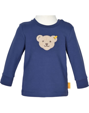 Steiff Sweatshirt HIGH FIVE Baby Boys deep cobalt 2111301-6062