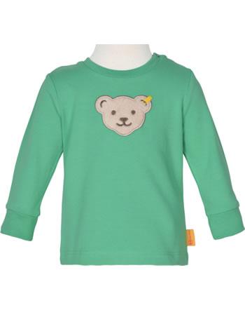 Steiff Sweatshirt HIGH FIVE Baby Boys winter green 2111301-5021