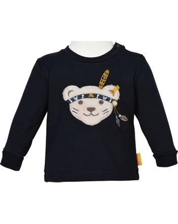 Steiff Sweatshirt INDI BEAR Baby Boys steiff navy 2022306-3032