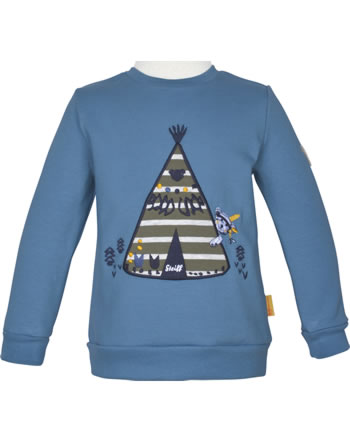 Steiff Sweatshirt INDI BEAR Mini Boys coronet blue 2022105-6048