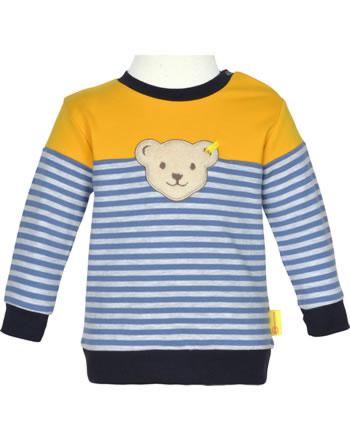 Steiff Sweatshirt LETS PLAY Baby Boys bijou blue 2121335-6066