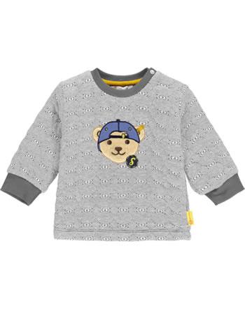 Steiff Sweatshirt LETS PLAY Baby Boys nimbus cloud 2121306-9017